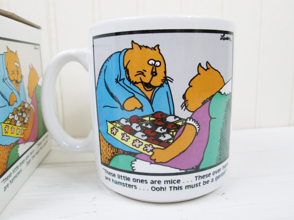 Vintage The Far Side Coffee Mug In Box