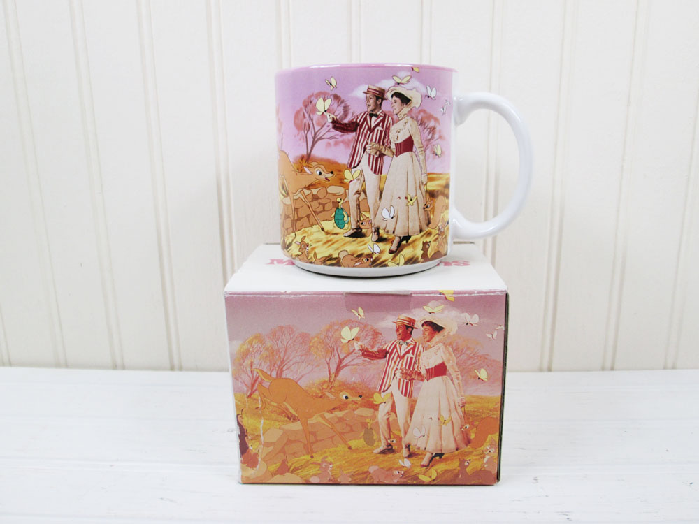 Disney Mary Poppins Movie Mug In Box
