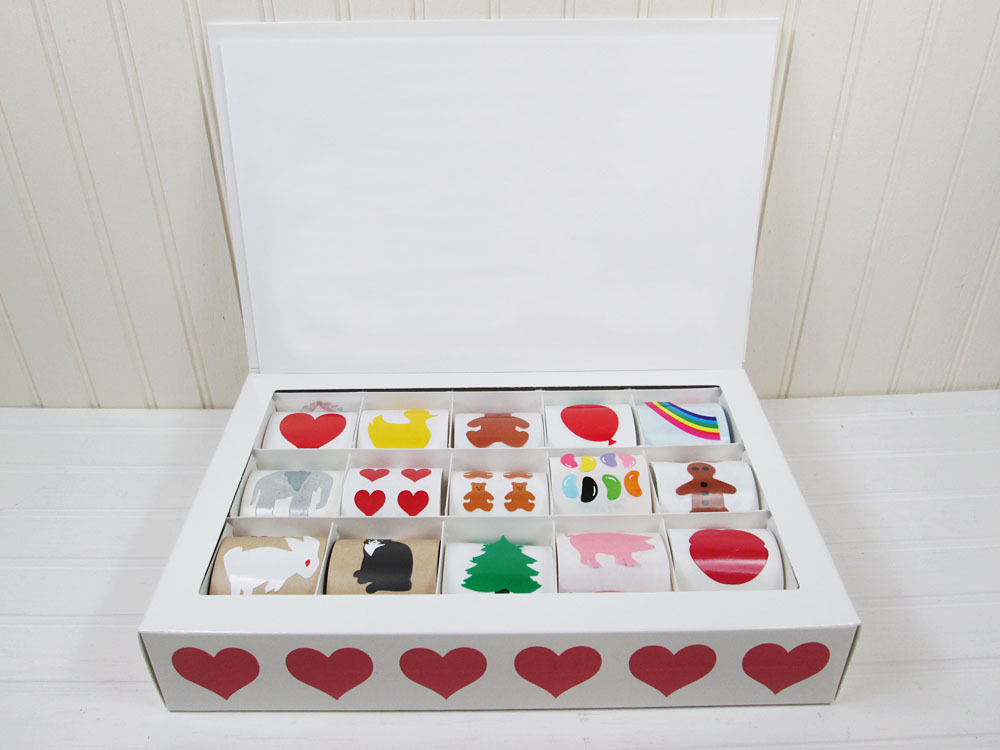 Vintage Mrs. Grossman's Sticker Keeper Box Set