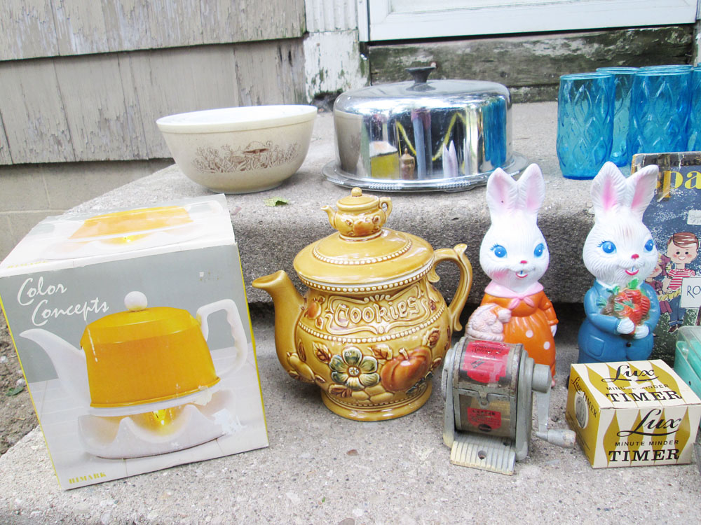 Thrift Haul Garage Sale Scores