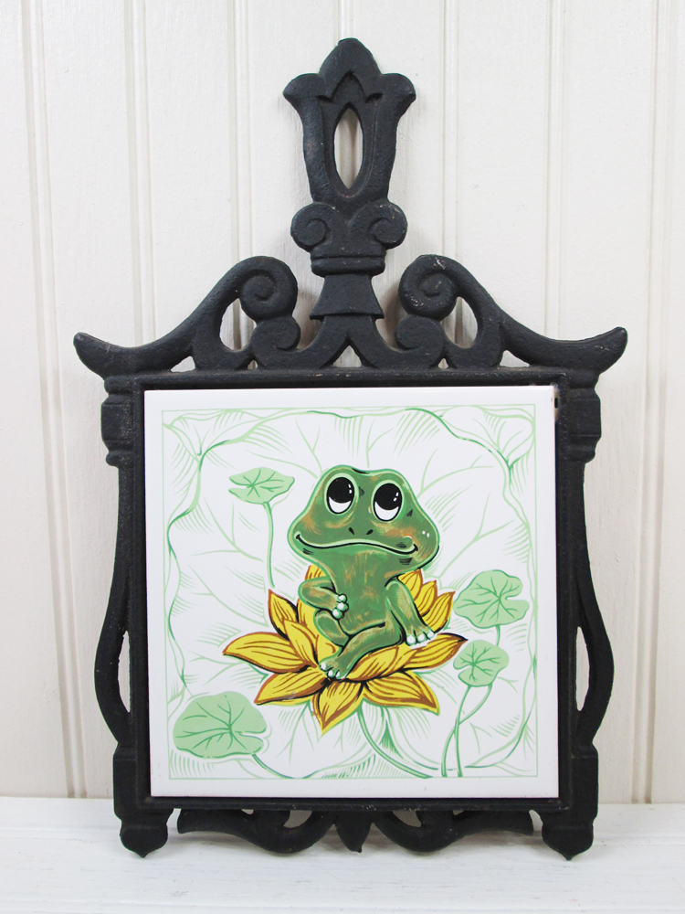 Vintage Sears Neil The Frog Neal Trivet