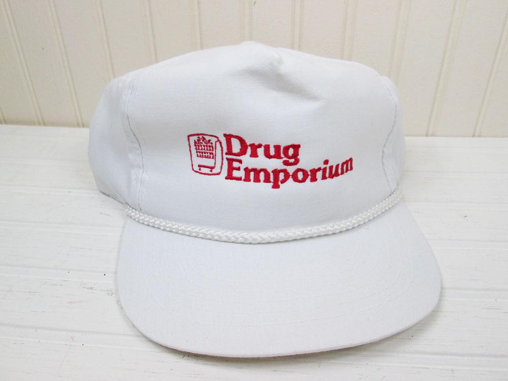 Vintage Drug Emporium Snapback Hat