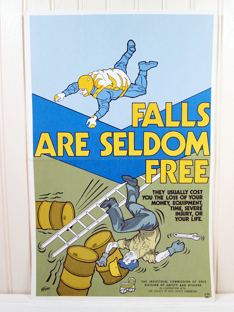 Vintage Workplace Safety Poster
