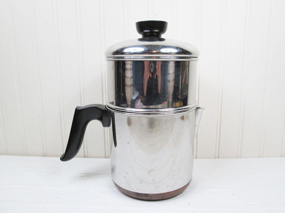 Vintage Revere Ware Drip-O-Lator Coffee Pot