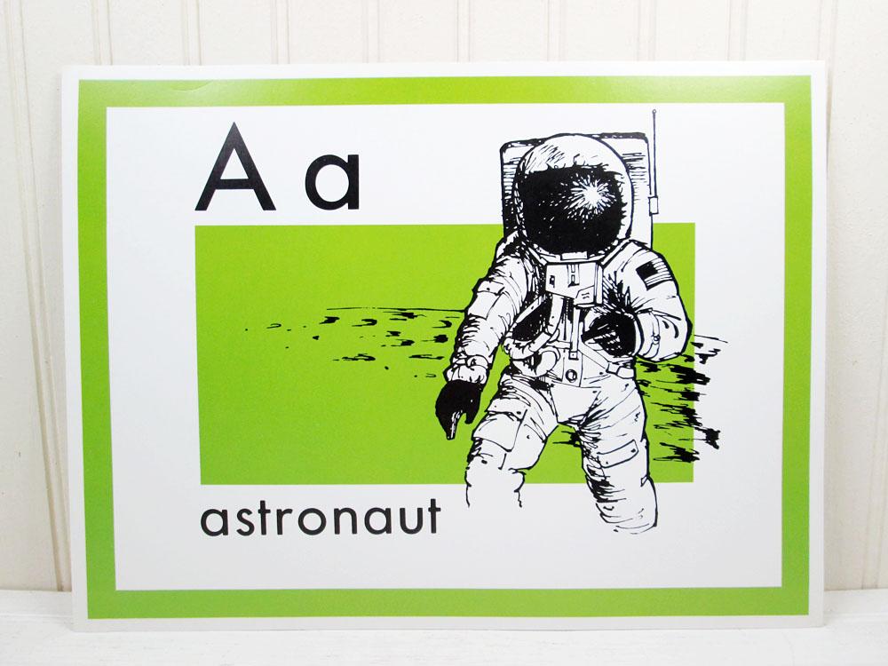 Vintage Trend Enterprises Alphabet School Posters