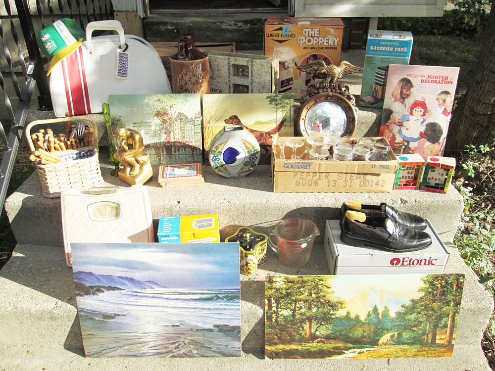 Thrift Haul Yard Sale Scores