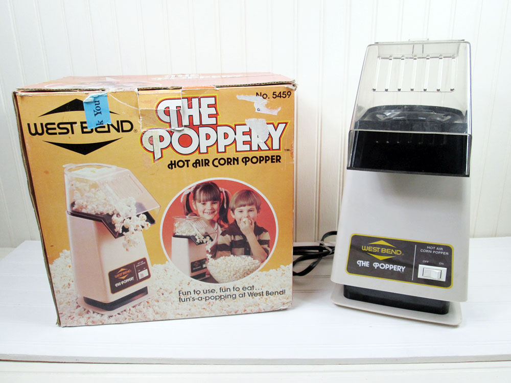 West Bend The Poppery Hot Air Popcorn Popper Coffee Bean Roaster 5459 In Box