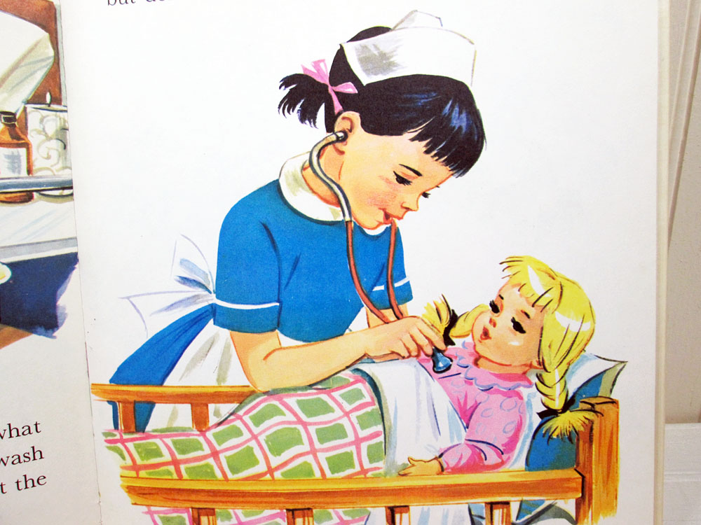 Rand McNally Nancy Plays Nurse