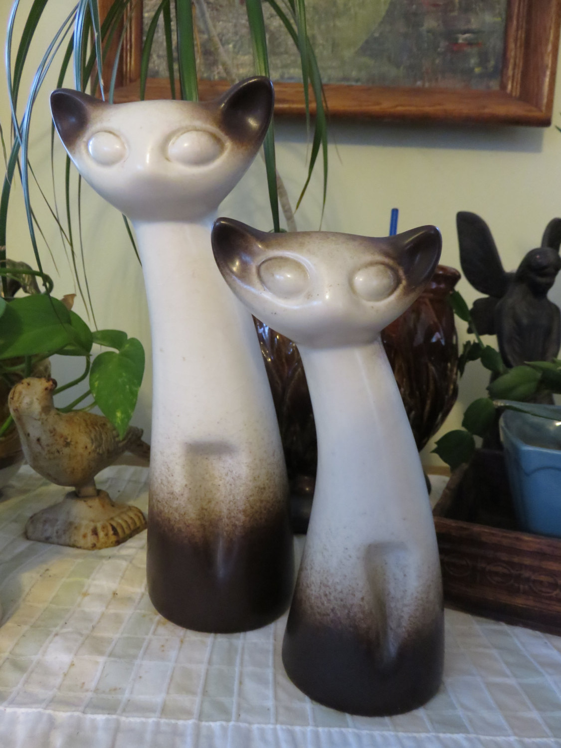 howard pierce cat figurines