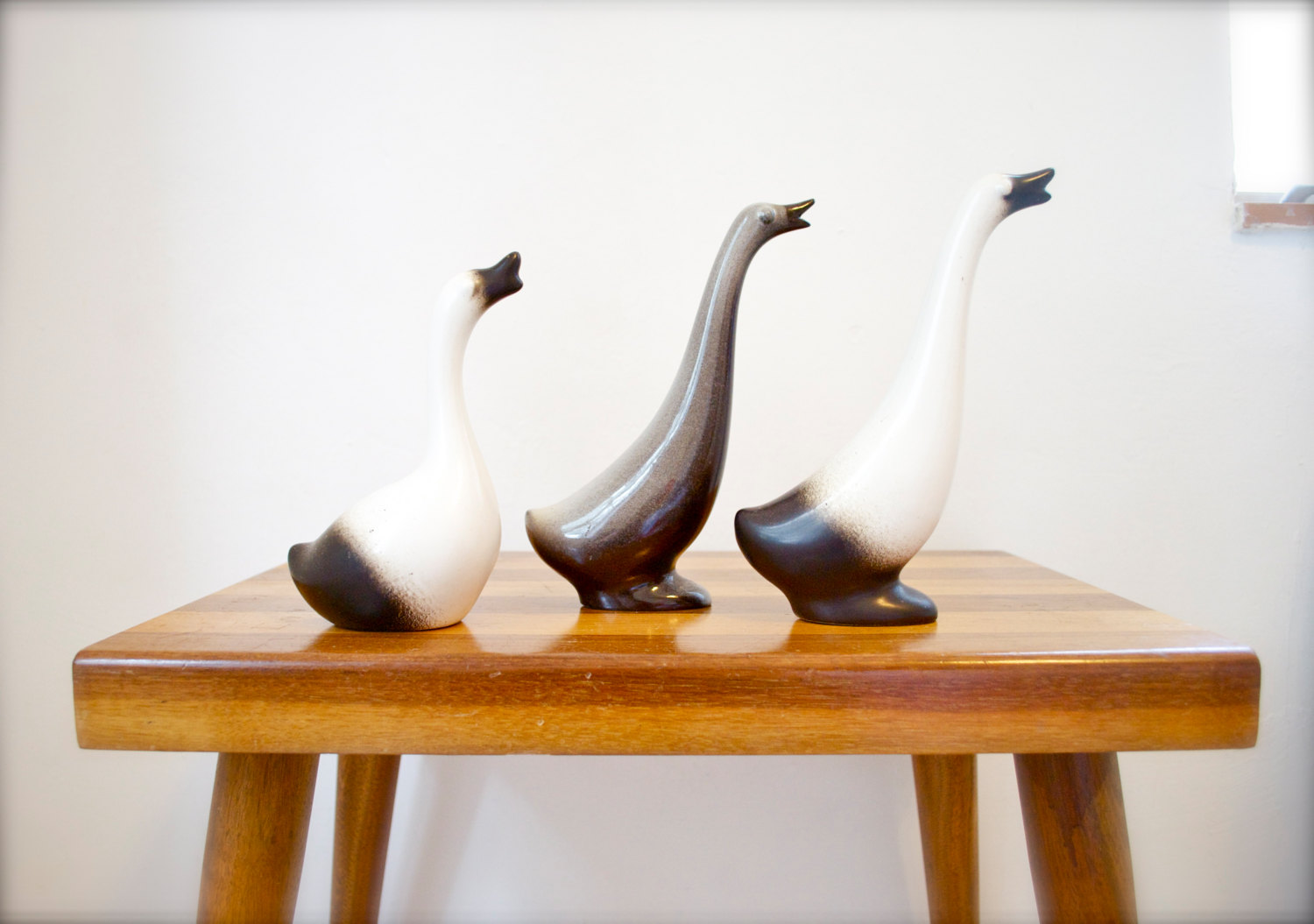 howard pierce goose geese figurines