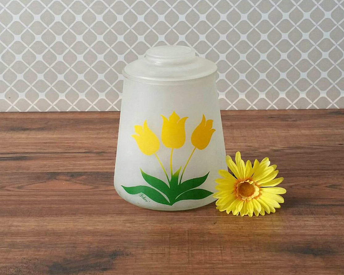 bartlett-collins-yellow-tulip-cookie-jar